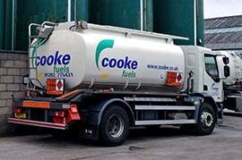 Cooke Fuels Tanker - Ready to Delivery Diesel across the UK