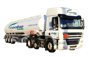 Cooke Fuels, Oil and Lubricants Delivery Vehicle